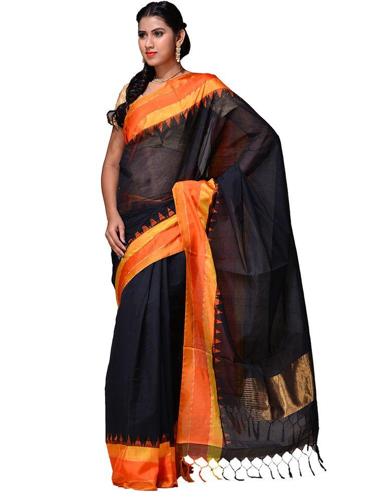 Handloom cotton Khadi Saree...kh0183a