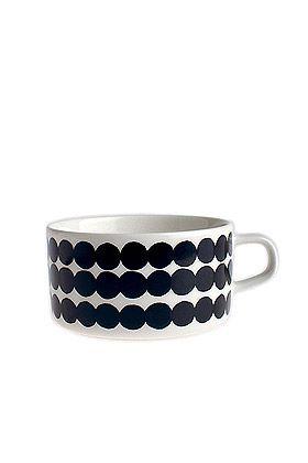 Marimekko Räsymatto Siirtolapuutarha teacup.  Perfect soup mug.