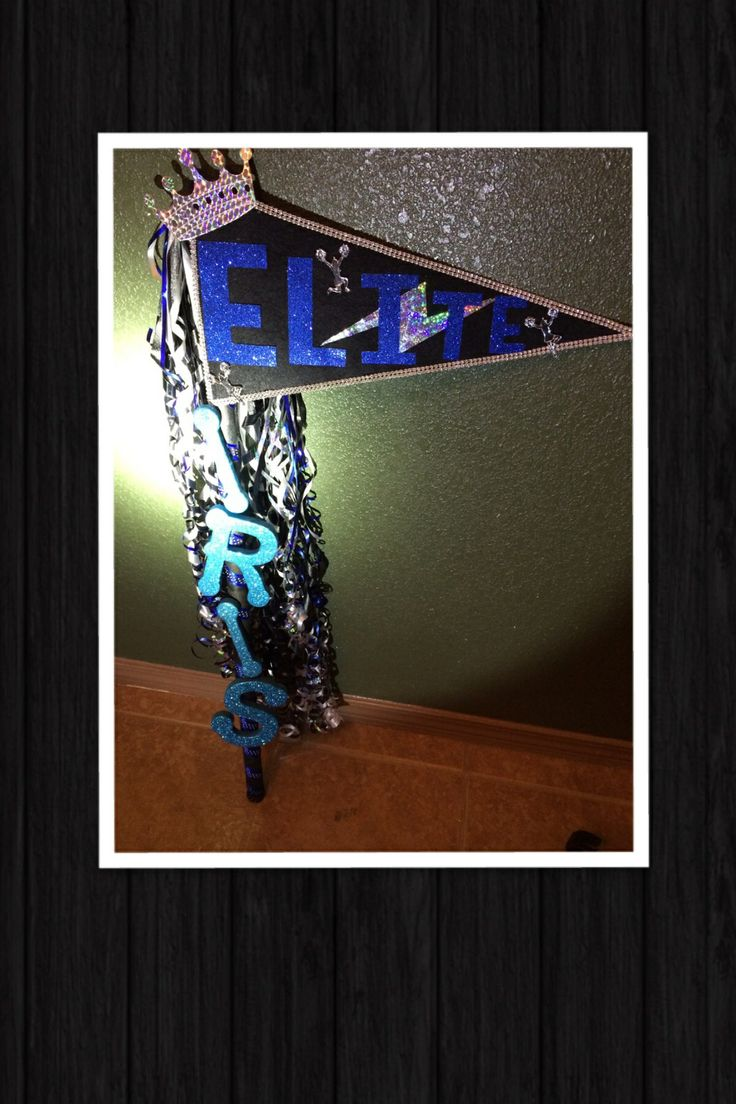 Cheerleading spirit stick!