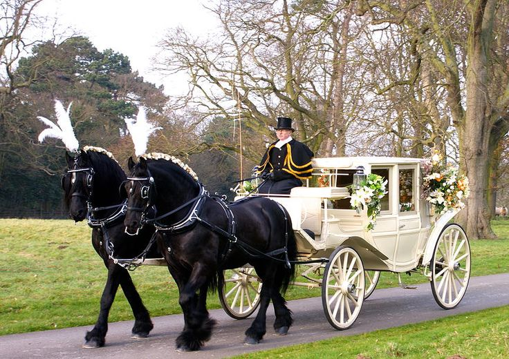 KRM Horse Drawn Carriages, wedding carriages, yorkshire