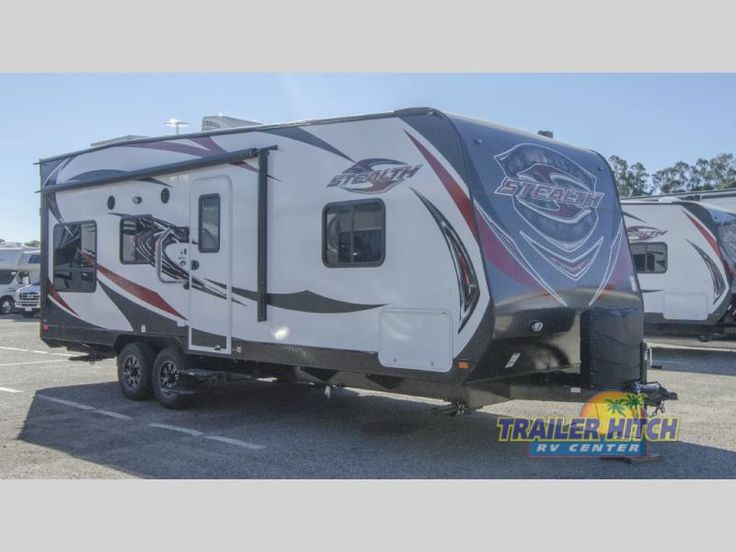 New 2017 Forest River Rv Stealth Wa2313g Toy Hauler Travel Trailer At Hitch