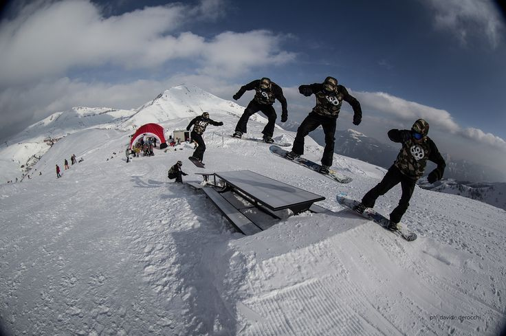 Kawabonga Snowpark -DueeffeShop Team - Bs 180 Gap - Flavio F.