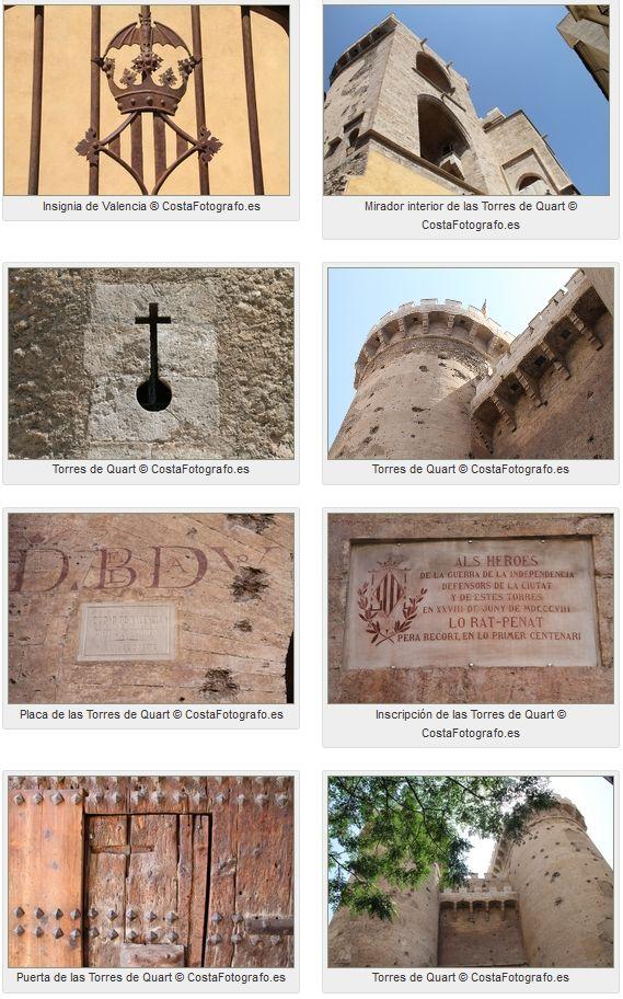 Las Torres de Quart fueron construidas en el siglo XV al estilo #gótico tardío militar y han sobrevivido a diferentes conflictos históricos como la Guerra de #Independencia de los franceses, la de #Sucesión o la Guerra #Civil Española. http://www.guias.travel/blog/las-otras-torres-de-valencia/ & http://www.hotelesvalencia.es/zona/alrededores-de-la-catedral/