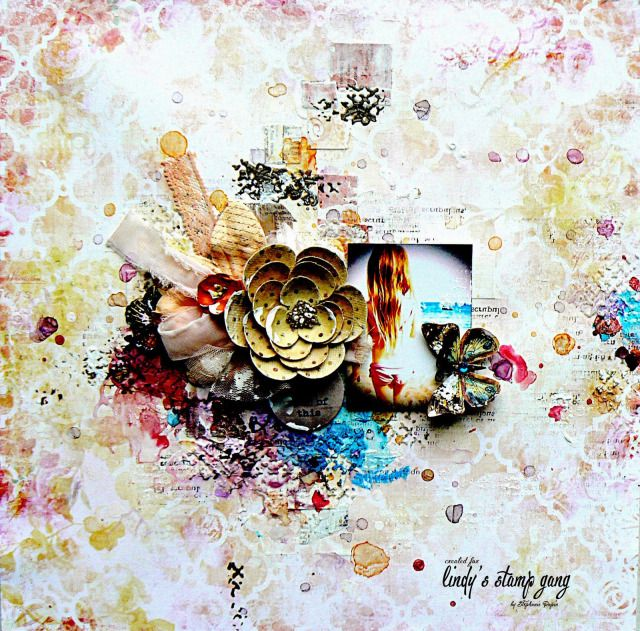 """""""Memories are made of this"""" Step by Step Tutorial by Stephanie Papin 