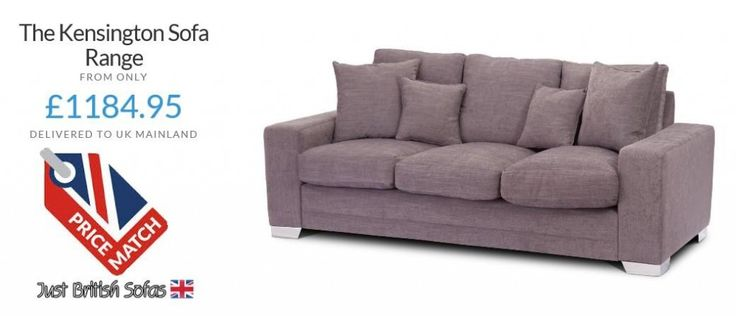 British Made Sofa The Kensington From Only 1184 95 By Just Sofas
