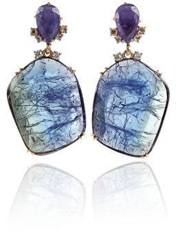 Federica Rettore: Tanzanite Drop Earrings