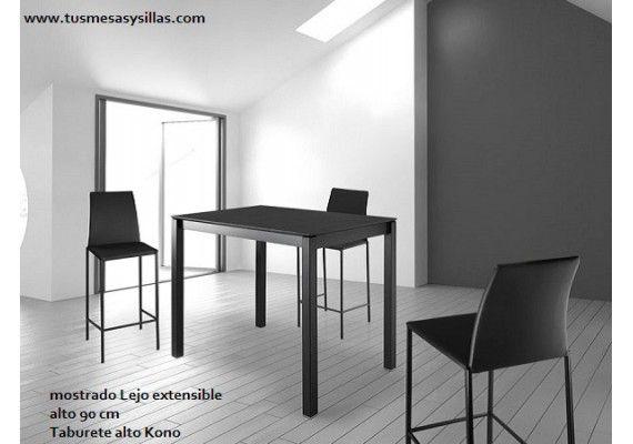 precio y oferta mesa mostrador extensible en medida de 100x65, 110x70, 120x80, encimera blanca, roble, cristal, ceramica white, black, mostradores en san sebastian, bilbao, vitoria, barcelona, madris