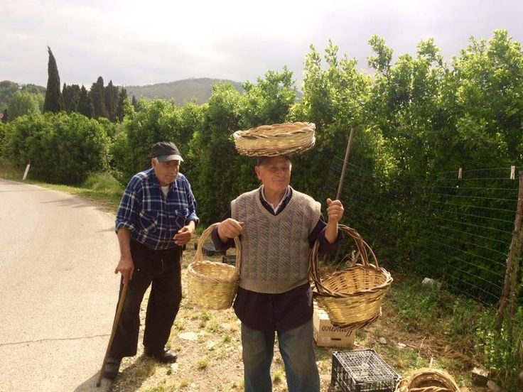 Rocco the basket maker lives at the edge of the village