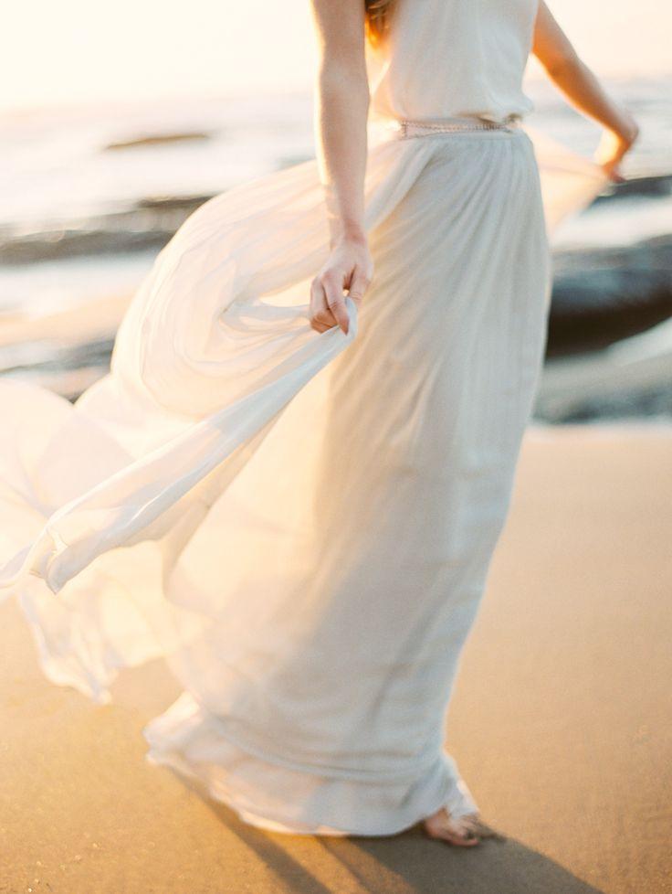 Alexandra Grecco Lya Chiffon Skirt and Esra Cami shot by Erich Mcvey
