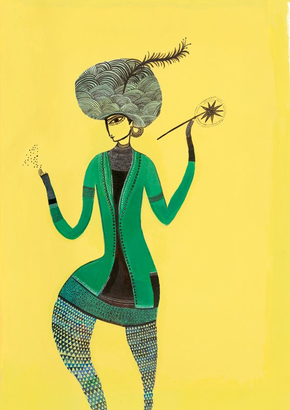 Raja, le plus grand magicien du monde  - illustrations Jeunesse Didier