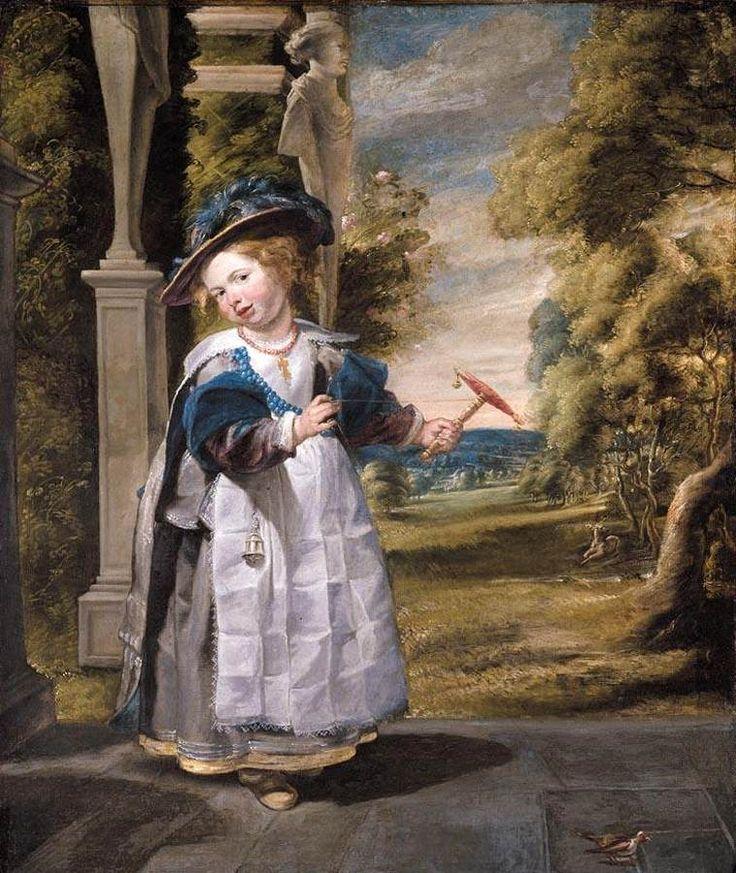 Portrait of the Painter's Daughter Anna Catharina Oil on canvas - Jacob Jordaens