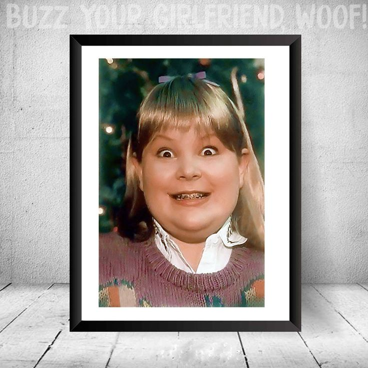 Home Alone Buzz's Girlfriend Woof Photo Christmas Funny Gift Secret Santa Print Buzz Your Girlfriend Woof! #shoppinghomealone #giftidea #christmas #christmasgifts #gift #