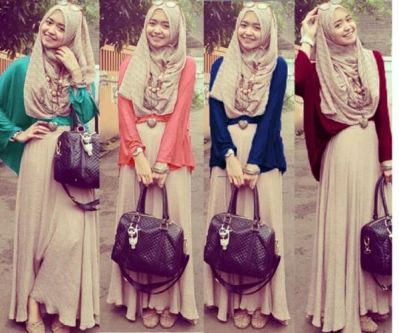 Baju Muslim Remaja(Baju Hijab) Modern, Murah, Keren, Trendy Model ...