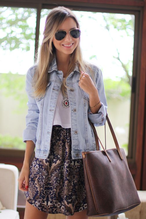 Look – Cropped T-shirt Skirt
