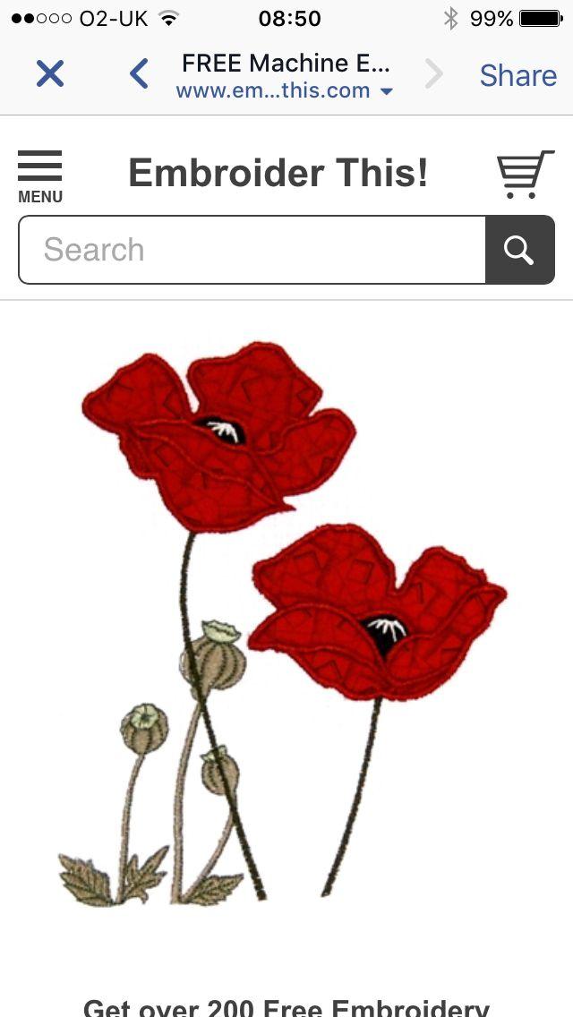 162 best Machine embroidery images on Pinterest | Maschinenstickerei ...