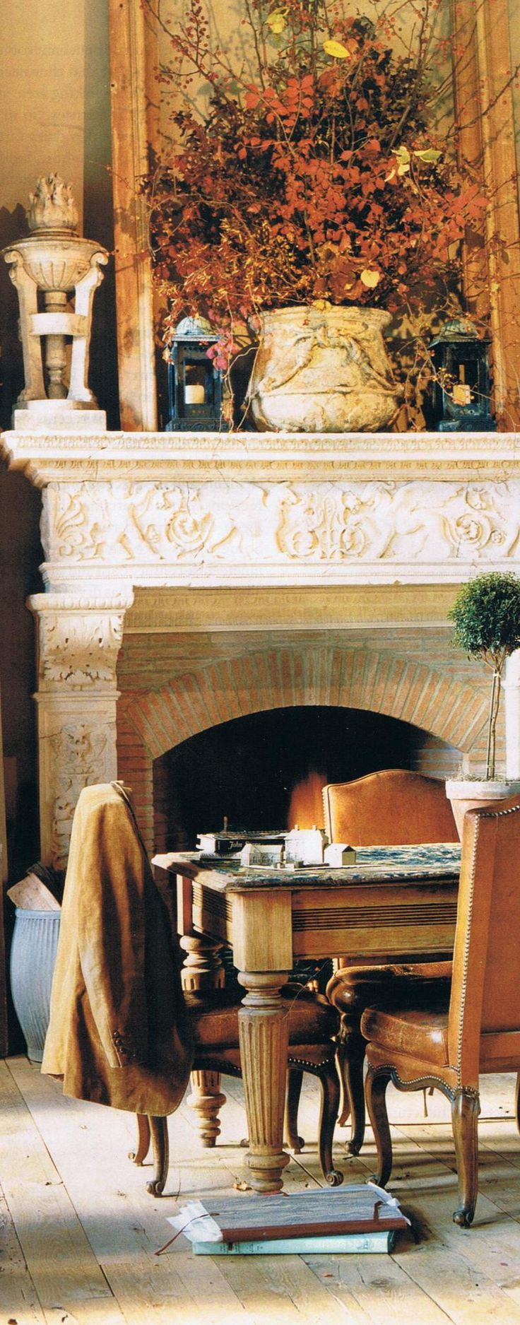 Pin by Tina Horn on Autumn In The Country Fireplace