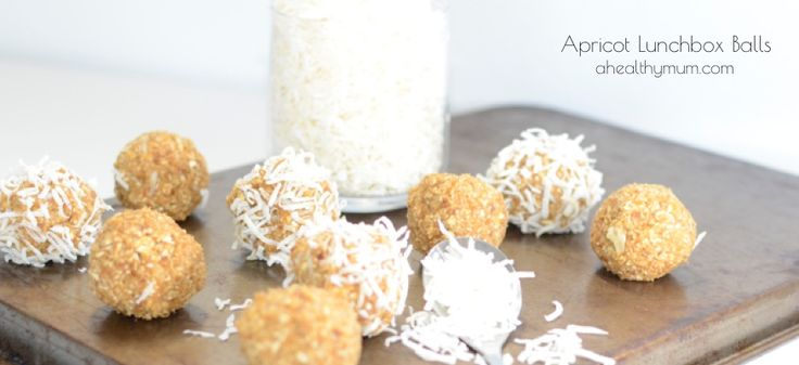 Stacey Clare – A Healthy Mum | Apricot Bliss Balls Lunchbox
