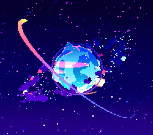 Michael Shillingburg 3d space pixel art video game
