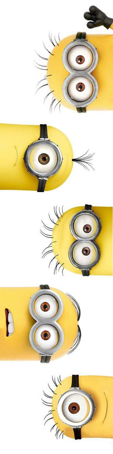 minions // despicable me. This would make a cute poster.