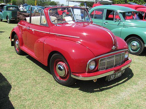 1950 Morris Minor Convertible.  Mom had a '59 Morris Minor!