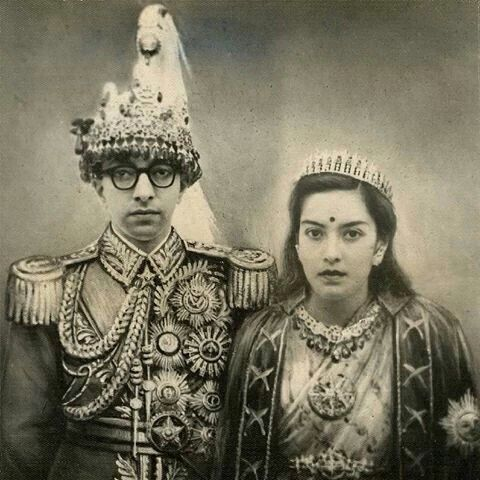 King Mahendra and his Queen #3TN Travel Tour Trek Nepal