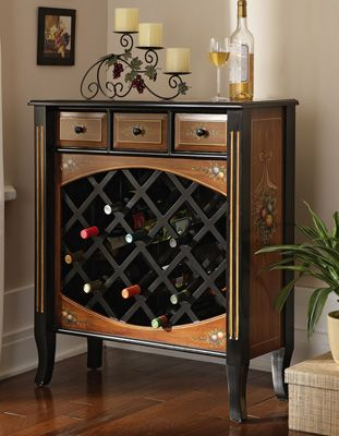 Marvelous Fruit Design Wine Cabinet Good Looking