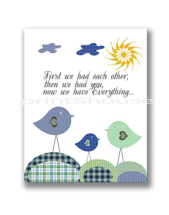 INSTANT DOWNLOAD Kids Room decor Digital Print baby by printShouse