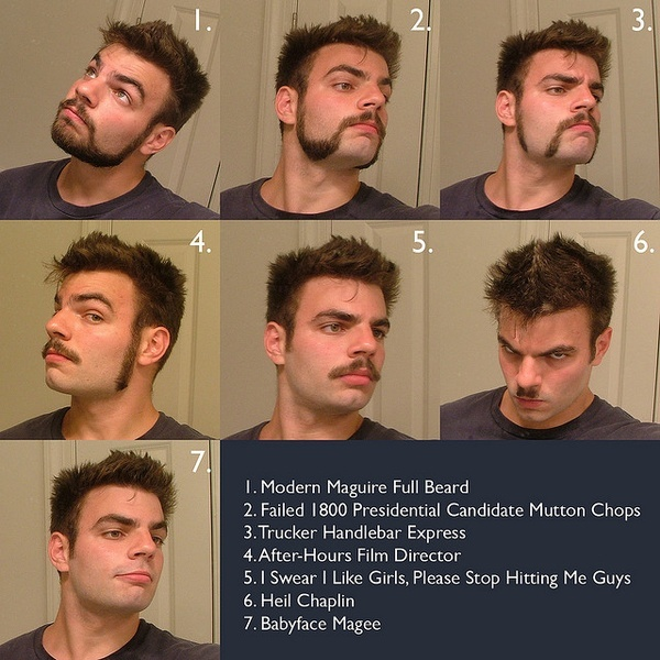 Excellent 1000 Ideas About Facial Hair Types On Pinterest Beard Styles Short Hairstyles Gunalazisus