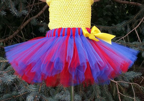TUTU SKIRT ONLY Pick Your Colors Superman Tutu Skirt Mommy