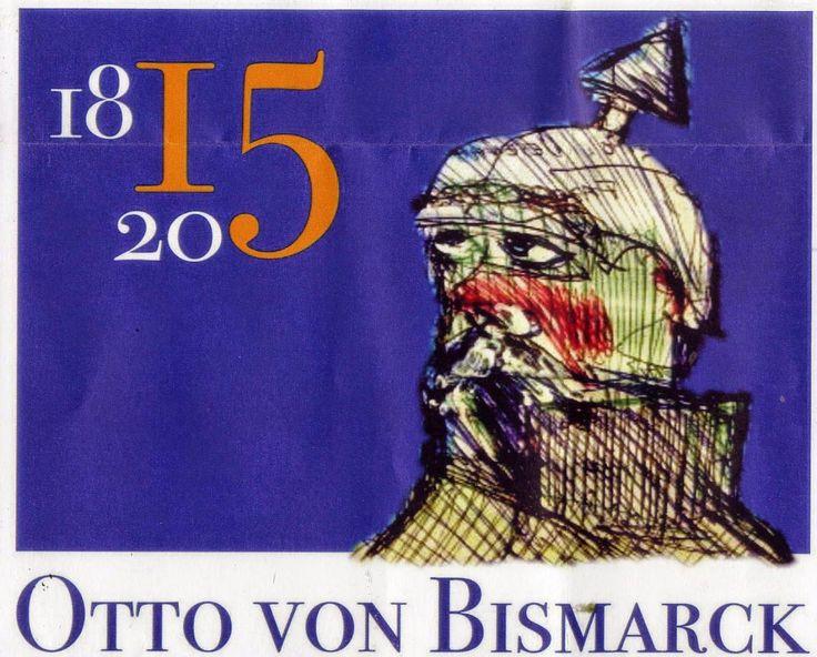 LUIS DESENHA: Otto von Bismarck - 200 anos do nascimento.