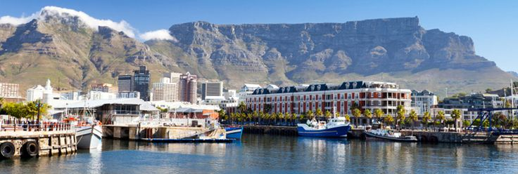 Cape Town's Table Mountain and the Table Bay Hotel