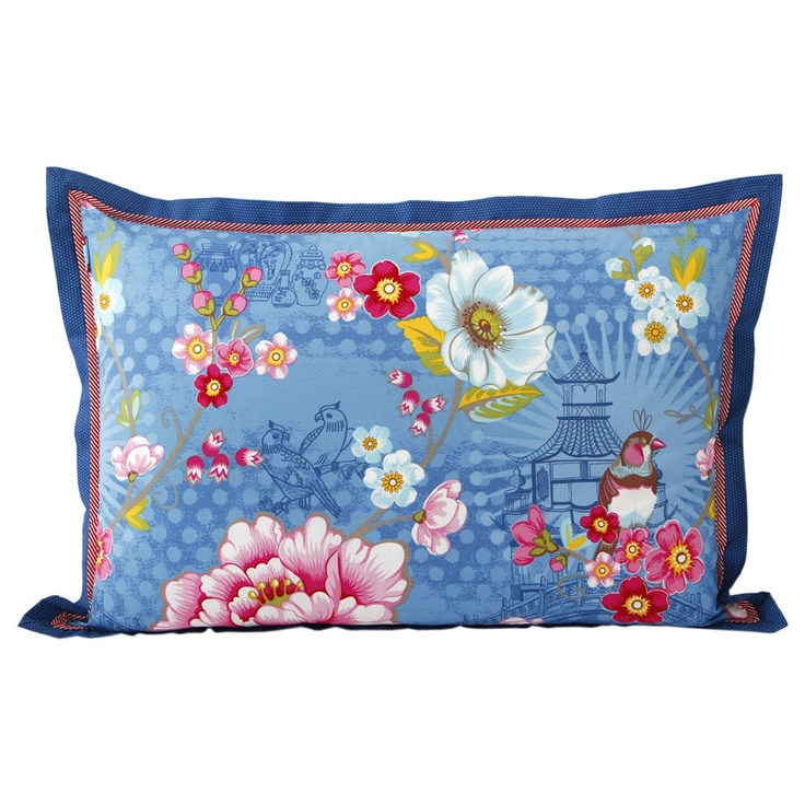 Pip Studio - Chinoise Pillowcase - Blue - 50x70cm