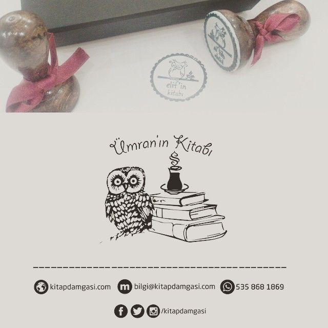 Semerkand logosu, çay, baykuş ve kitaplar.İsme özel mühür  #damga #muhur #semerkand #çay #cay #simit #baykus #kitap #books #exlibris #ekslibris #kisiyeozel #hediye #ismeozel #orjinal #art #gift #umran #elif #rubberstamps #stamp #kaşe #okumak #damgalar #sofi