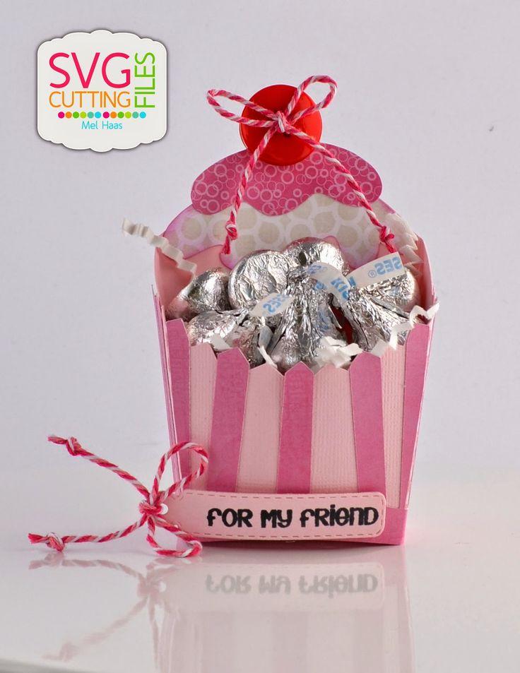 Cupcake Fry Box