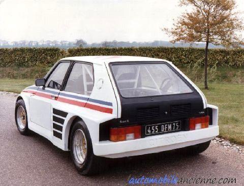 Après l'échec de la Citroën Visa dans sa première version, Citroën présente en 1981 la Visa II corrigée par Heuliez. Pour dynamiser ce modèle, Citroën Compétitions met en œuvre un progr...