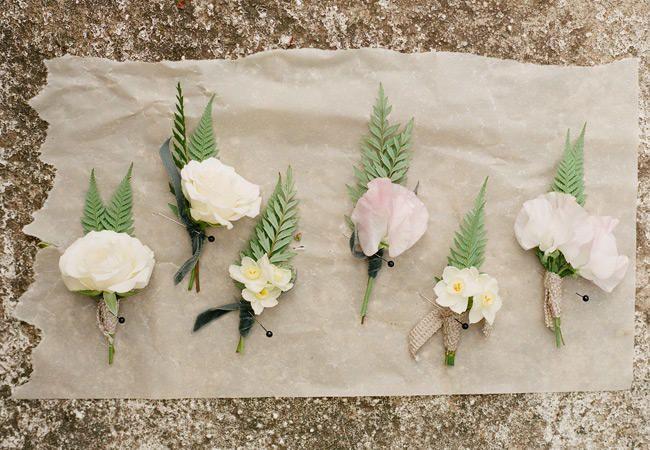 7 Dreamy Wedding Dress Details For A Woodland Wedding By Jose Villa | TheKnot.com