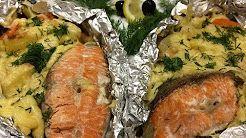 запеченная рыба в духовке - YouTube