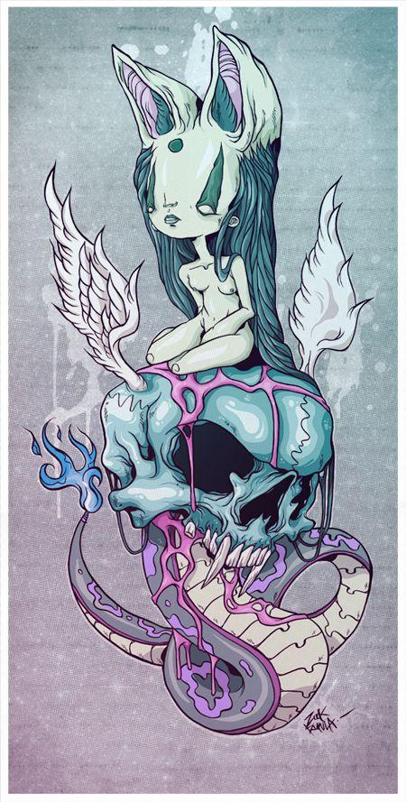 ilustracion, proyecto personal, tintas y Ps, espero les guste, saludos….