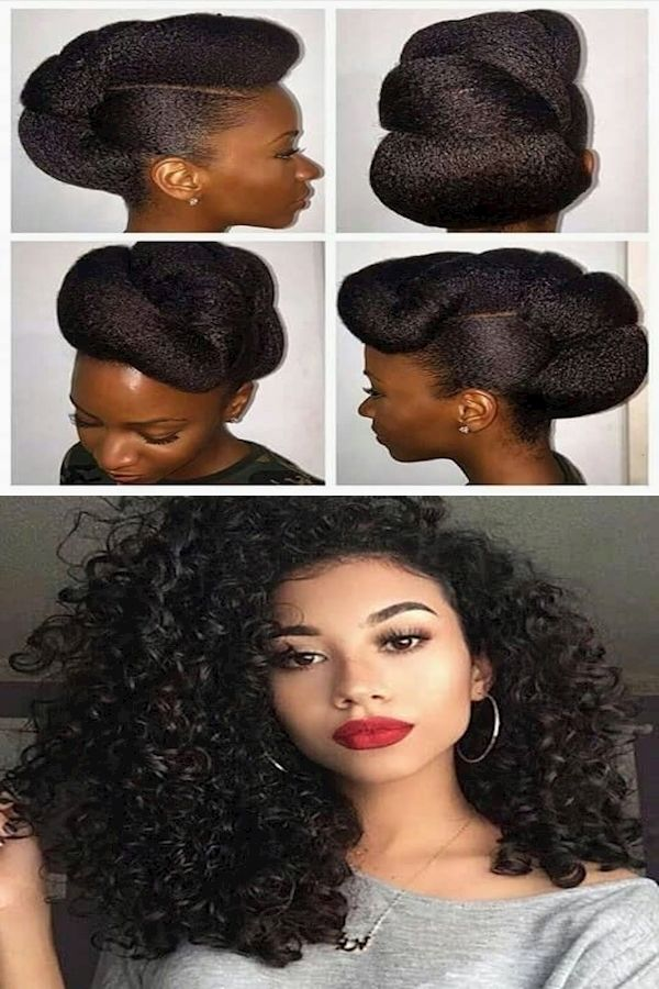 Natural Looking Hairstyles Current Hairstyles Cute Hairstyles In 2020 Natural Hair Styles Current Hair Styles Hair Styles