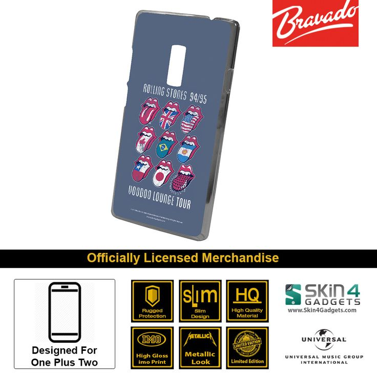 Buy Rolling Stone Multi Tounge Mobile Cover & Phone Case For One Plus Two at lowest price online in India only at Skin4Gadgets. CASH ON DELIVERY AVAILABLE