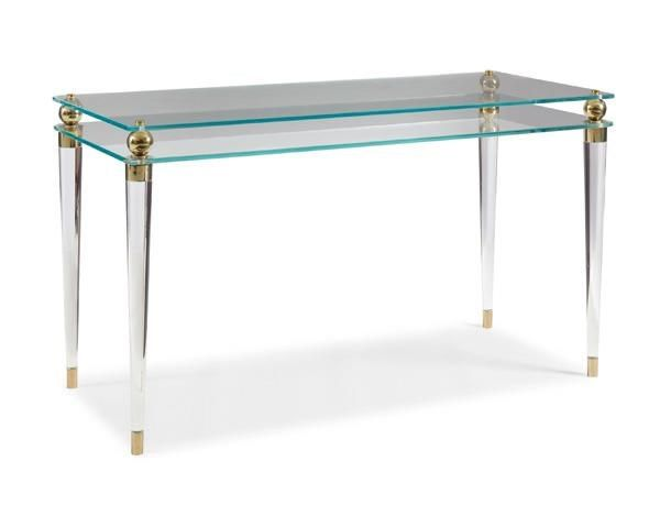 See Write Thru You : New Traditional : LIVING - CONSOLES ~ DESKS : TRA-CONTAB-010 | Caracole Furniture
