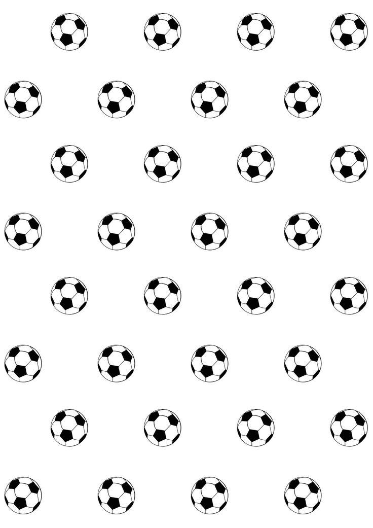 Free digital soccer scrapbooking paper - Fussball Geschenkpapier - freebie | MeinLilaPark – DIY printables and downloads