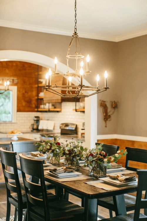 Fixer Upper : Magnolia homes, House and Dining room tables