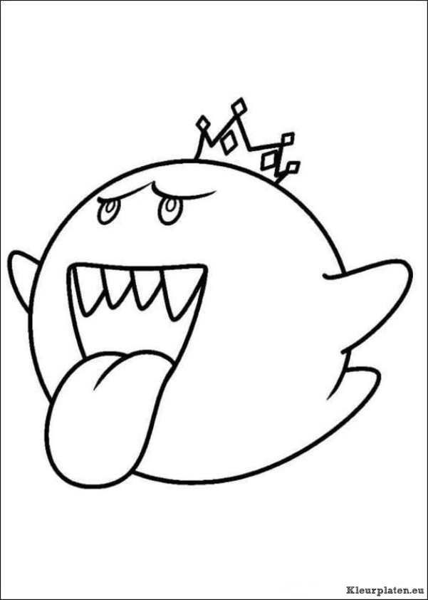 Kleurplaten Mario Kat.Super Mario Bros Kleurplaat Embroderiry Mario Coloring Pages