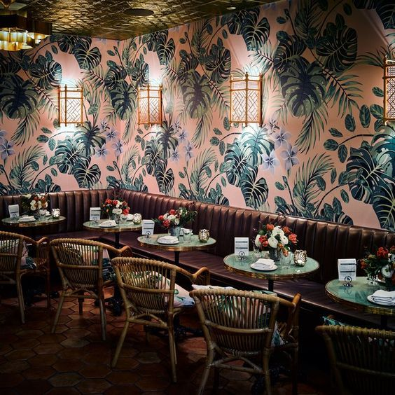 Leos Oyster Bar Brings To San Francisco Some Of The Glamour From Golden Era Place Is New Ken Fulk Restaurant Design And Knowned As A