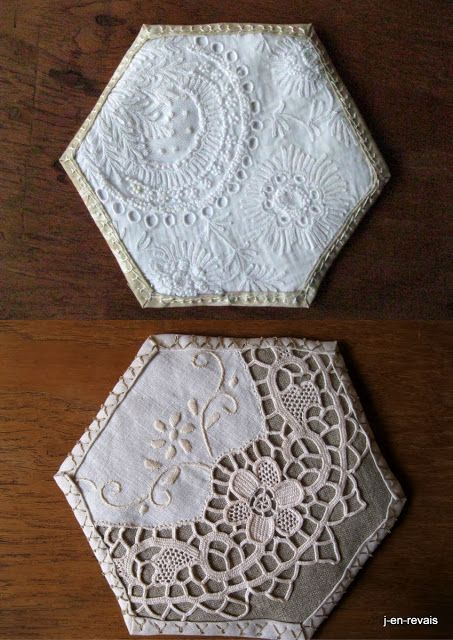 Hexies & lace
