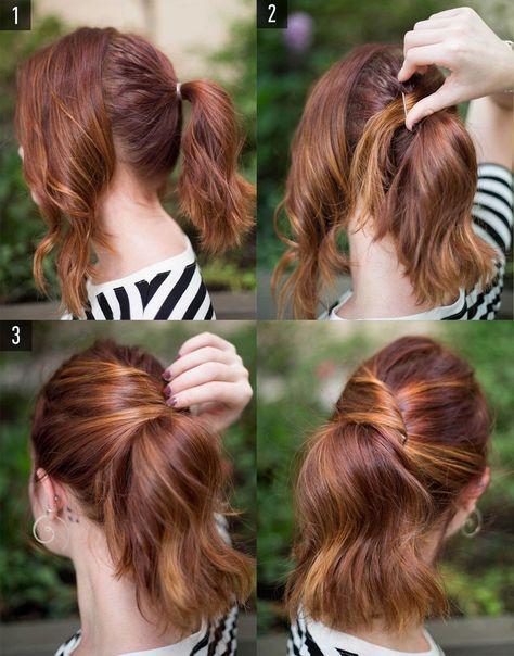 6 penteados fáceis para o dia a dia