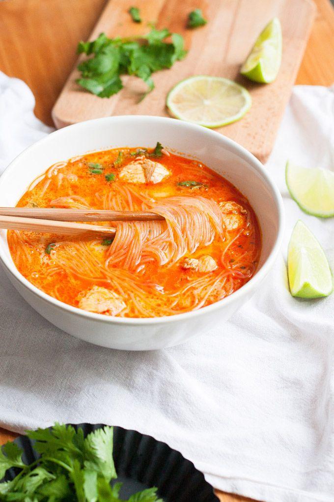 20-Minuten Thai Chicken Soup6