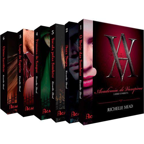 Livro - Box Academia de Vampiros-americanas-63,81