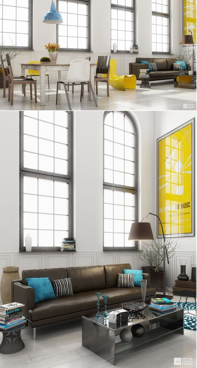 Grey and yellow living room walls - Grey And Yellow Living Room Walls 61